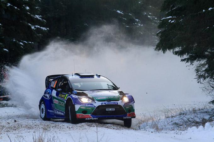 Rally di Svezia: a Latvala il primo round