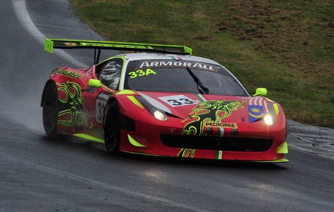 Una Ferrari sul podio della 12 Ore di Bathurst