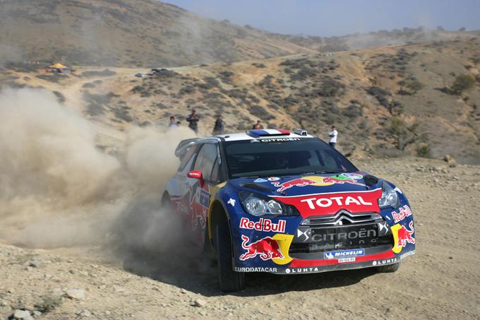 WRC – Sebastian Loeb comanda in Messico