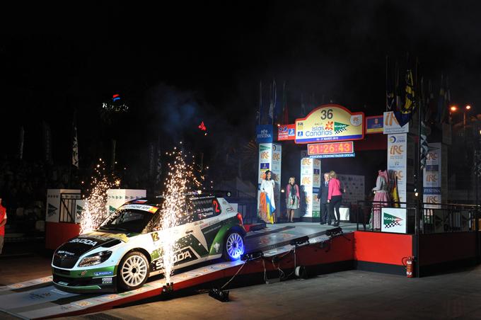 IRC – Rally delle Canarie, Mikkelsen si arrende alla sfortuna e a Kopecký