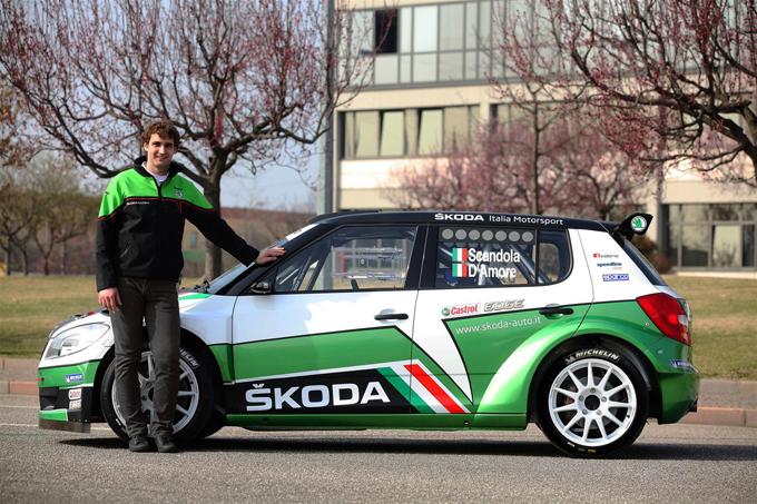 Fabia S2000 di SKODA Italia Motorsport pronta al debutto