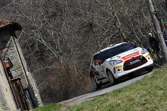 Rally del Ciocco – Debutto con vittoria per la Citroën DS3 R3 ufficiale