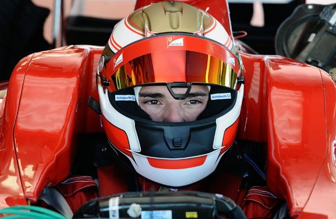 Jules Bianchi debutta nella Formula Renault 3.5