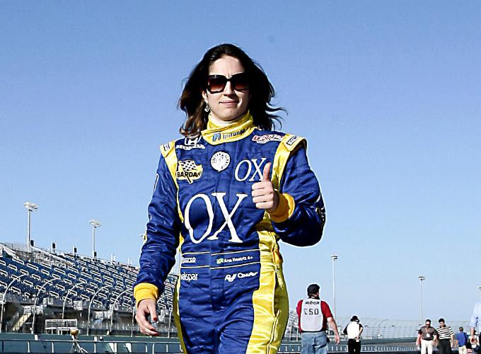 Ana Beatriz in pista con l'Andretti Autosport
