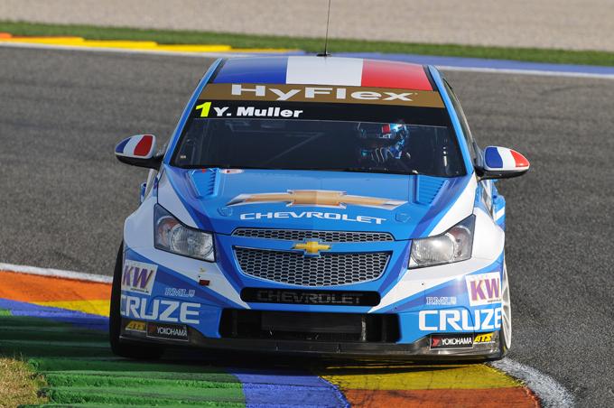 WTCC – Chevrolet domina, Muller allunga