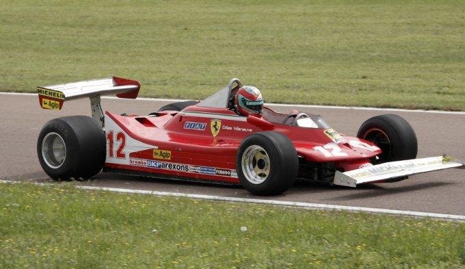Ferrari: Bertolini collauda la 312 T4 di Villeneuve
