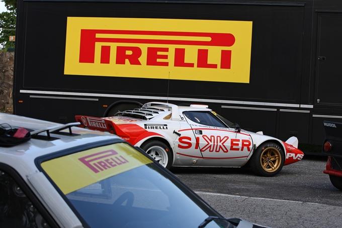 Con Pirelli P7 Corsa Classic rivive l'epoca d'oro del rally