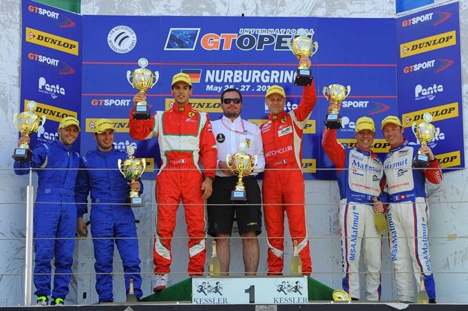 Nurburgring positivo per le Ferrari 458 Italia di AF Corse