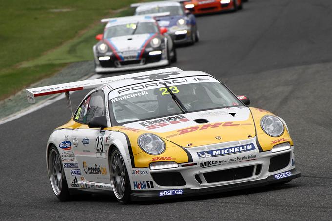 Carrera Cup Italia – Gara 2 a Vallelunga è di Daniel Mancinelli