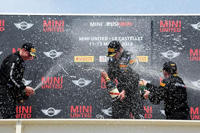 Gagliardini coglie la prima vittoria del MINI Rushour 2012