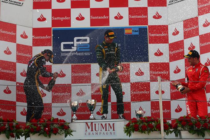 GP2 – Giedo van der Garde conquista Gara 1