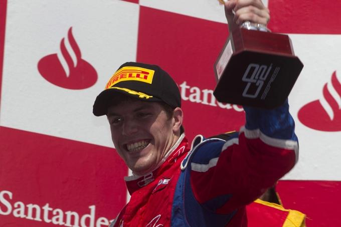 GP2 – Luiz Razia leader a Barcellona in Gara 2