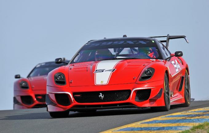 A Laguna Seca con i Ferrari Racing Days