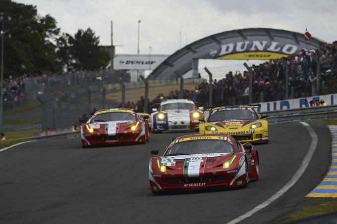 24 Ore di Le Mans – Ferrari sontuosa con Fisichella, Bruni e Vilander