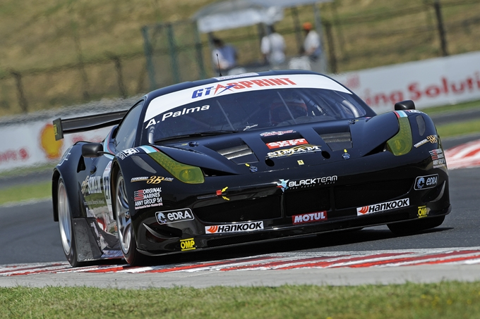 GT Sprint – Andrea Palma a suo agio all'Hungaroring