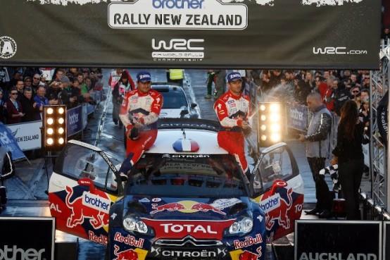 WRC – Loeb-Hirvonen e la Citroen firma la doppietta in Nuova Zelanda