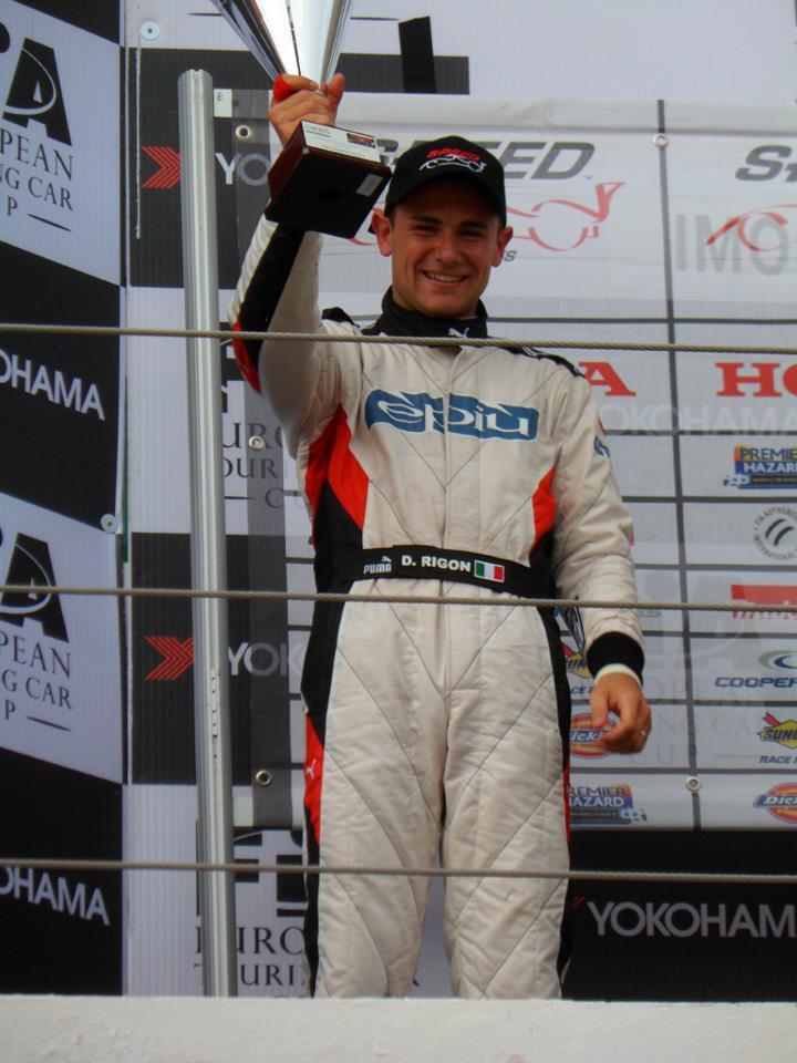 Davide Rigon subito a podio nella Speed Euroseris