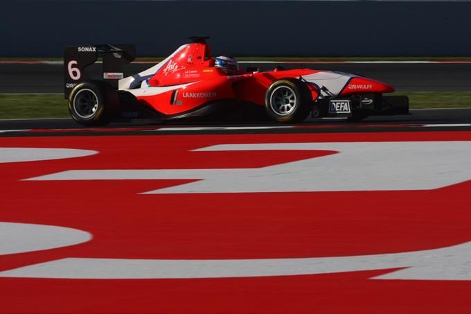 GP3 – Matias Laine domina i primi test a Valencia