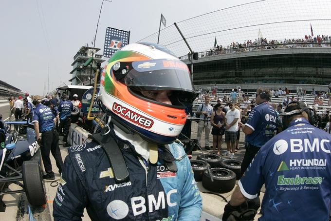 Indycar – Rubens Barrichello penalizzato in griglia