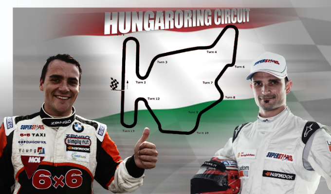 Superstars International Series – Alla scoperta dell'Hungaroring con Liuzzi e Michelisz
