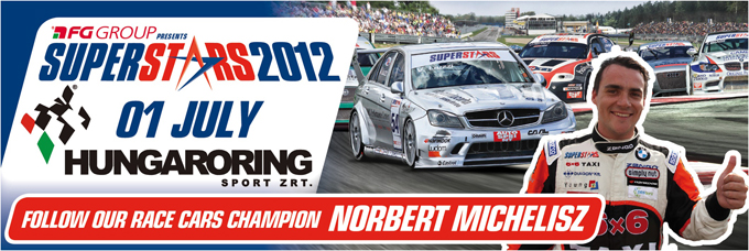 Superstars International Series – All'Hungaroring arriva Norbert Michelisz