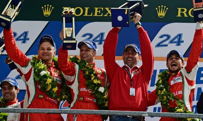 """Fisichella, Bruni e Vilander: """"La 24 Ore di Le Mans si vince tutti insieme"""""""