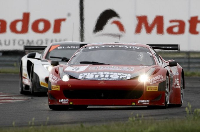 FIA GT – Vilander e Salaquarda protagonisti con la Ferrari allo Slovakia Ring