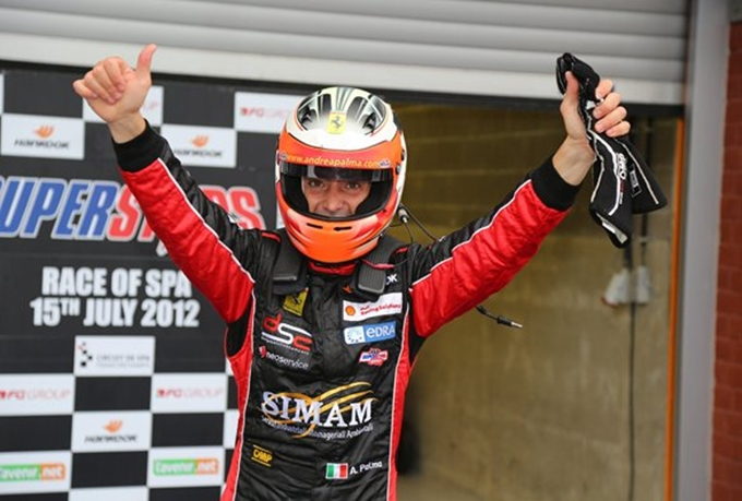 GTSprint International Series – Andrea Palma fa sua Gara 1 a Spa-Francorchamps