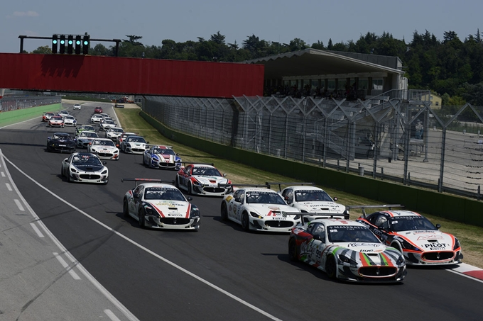 Ultima gara europea per il Trofeo Maserati