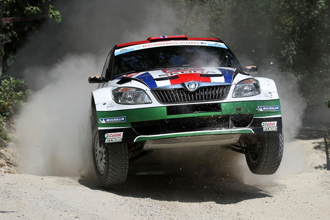 IRC – Rally di San Marino, Mikkelsen in testa dopo la prima giornata
