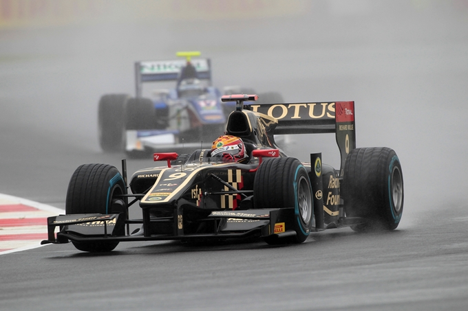 GP2 – Errore di Leimer, Gutierrez si aggiudica Gara 1