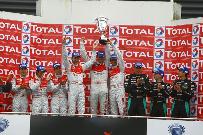 L'Audi piazza la doppietta alla 24 Ore di Spa