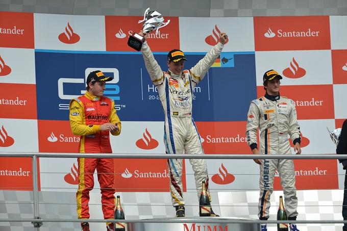 GP2 – Ceccotto vince in rimonta a Hockenheim