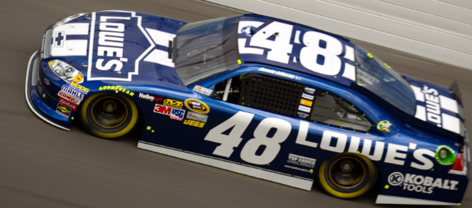 Nascar Sprint Cup – Jimmie Johnson cala il tris