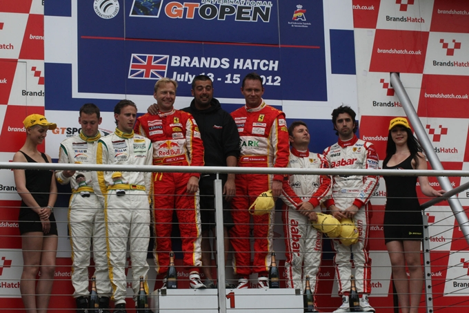 International GT Open – Kessel Racing vince Gara 1 a Brands Hatch