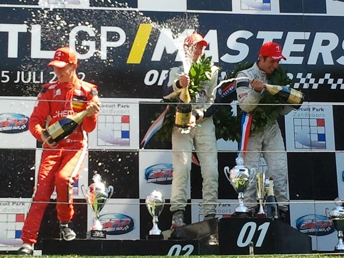 Raffaele Marciello sul podio nel Masters of Zandvoort