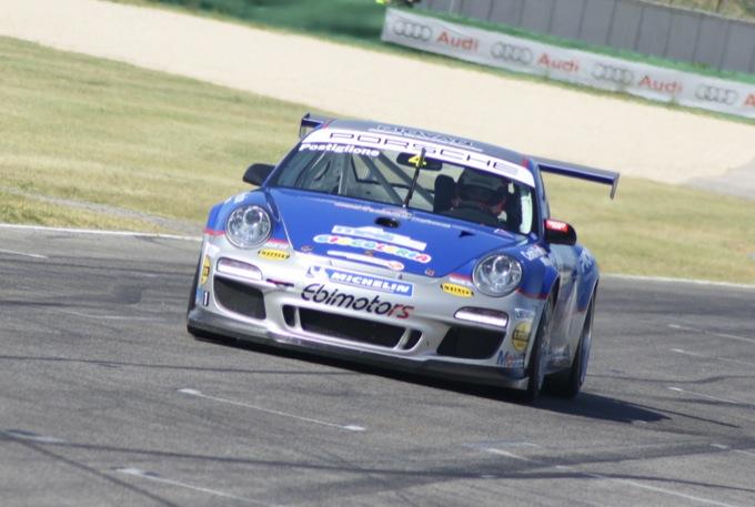 Porsche Carrera Cup: Postiglione domina in scioltezza Gara 1 a Misano