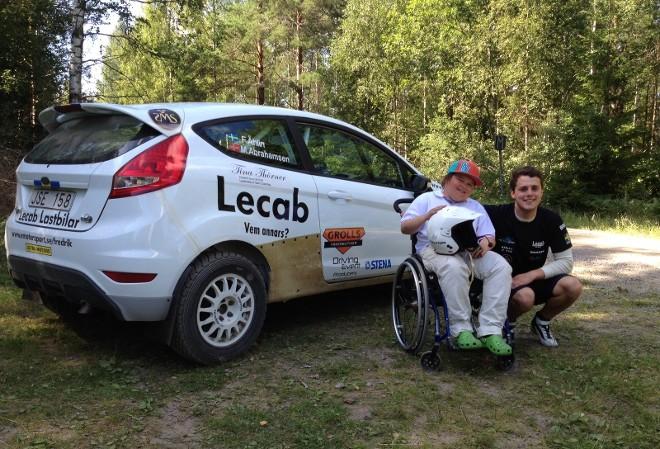 WRC Academy – Ahlin esaudisce il desiderio di un giovane fan
