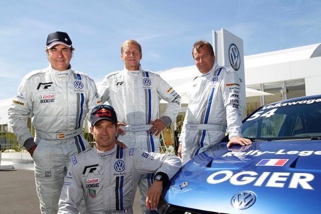 Ogier primo tra i leggendari nella Volkswagen Scirocco R-Cup