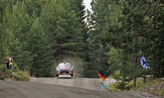 WRC – Rally di Finlandia, Loeb davanti nella prima giornata