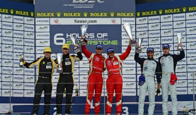 WEC – Fisichella e Bruni dominano a Silverstone