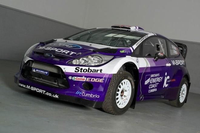 WRC – Per Wilson una Ford viola in onore della sua Cumbria