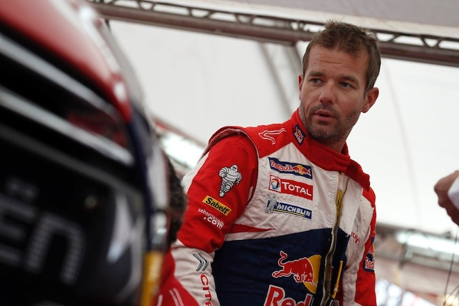 WRC – Rally Wales Gb, Loeb primo nelle qualifiche