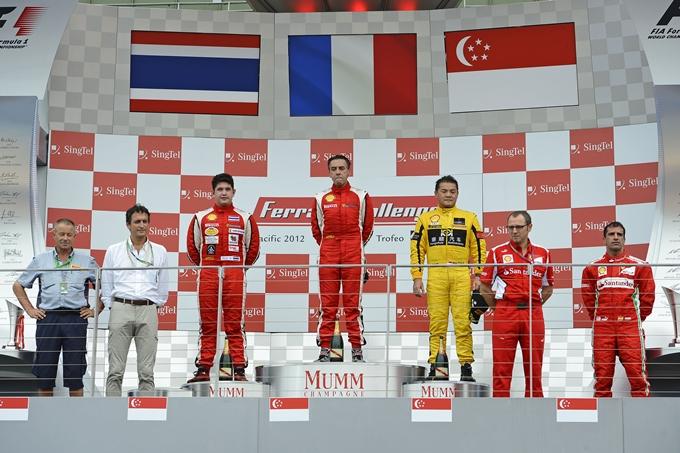 Alain Li conquista il Ferrari Challenge Trofeo Pirelli