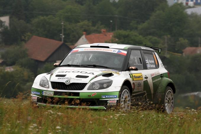 IRC – Barum Czech Rally, Hänninen leader dopo la prima giornata