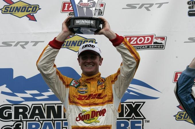 IndyCar – Hunter-Reay vince a Baltimora e riapre i giochi