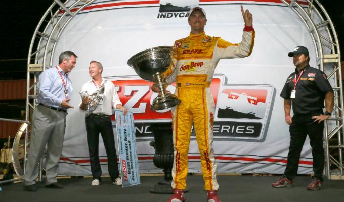IndyCar – Hunter-Reay è il campione 2012