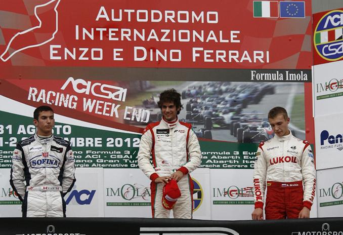 Un incredibile Latifi conquista il secondo posto a Imola