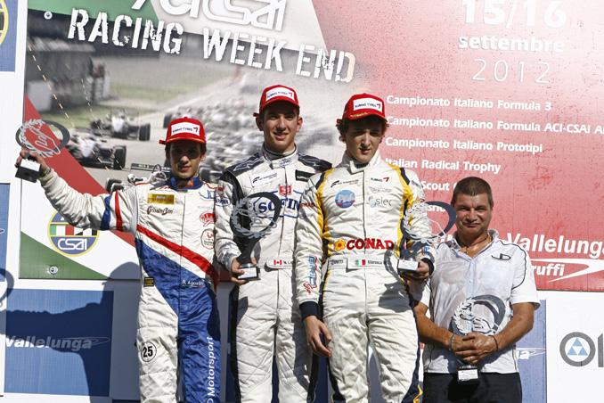 Nicholas Latifi compie l'impresa e vince la sua prima gara a Vallelunga