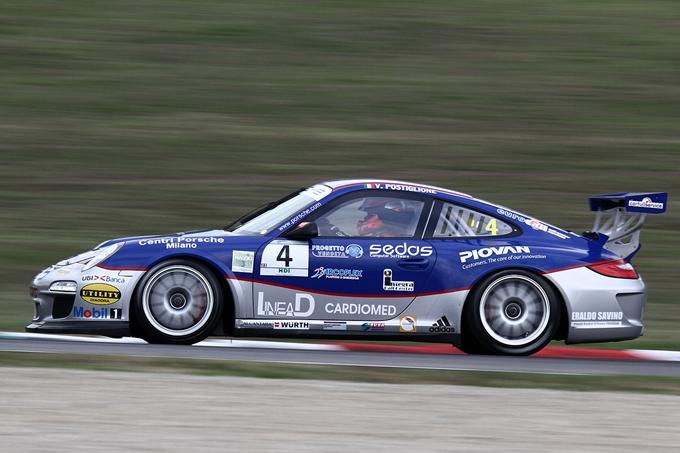 Carrera Cup Italia – Terza pole stagionale per Postiglione
